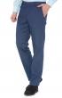 W. Wegener Eton 5646 Modré Pánské kalhoty