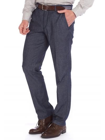 W. Wegener Eton 5687 modré Pánské kalhoty