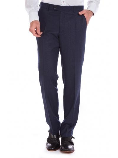W. Wegener 6212 Eton modré Pánské kalhoty
