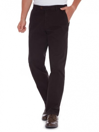 Meyer Bonn 6455 Tmavě hnědá pánské kalhoty