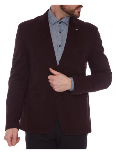 W. Wegener 6455 Kenny burgundské panské sako