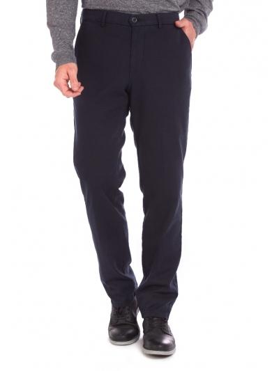 W. Wegener Conti 6574 modré panské kalhoty