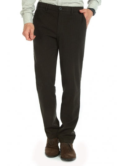 W. Wegener Conti 6574 hnědý panské kalhoty