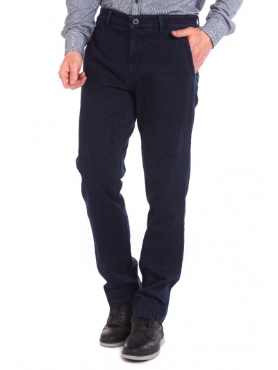 W. Wegener 6664 Avanti modrý Pánské kalhoty