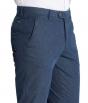 W. Wegener Eton 5686 Modré Pánské kalhoty